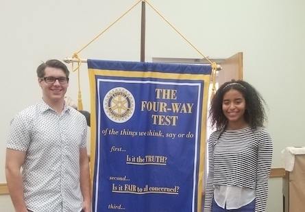 Purcell HS Students Guests at Rotary