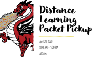 Distance Learning Packet Pickup 4/20/20