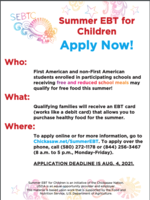 Chickasaw Summer EBT Program
