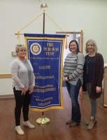 Purcell Softball Honored at Rotary