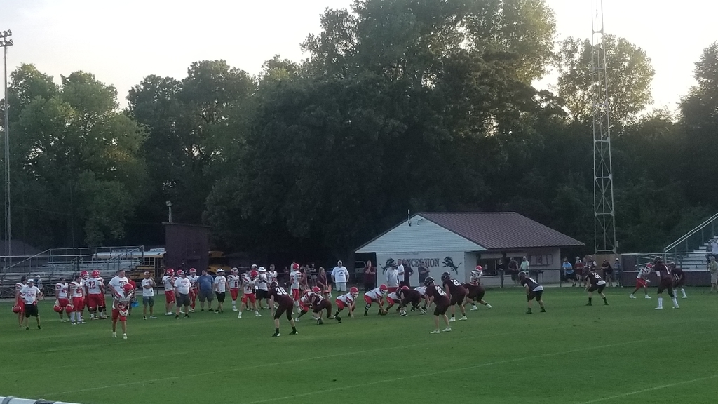 Blanchard scrimmage