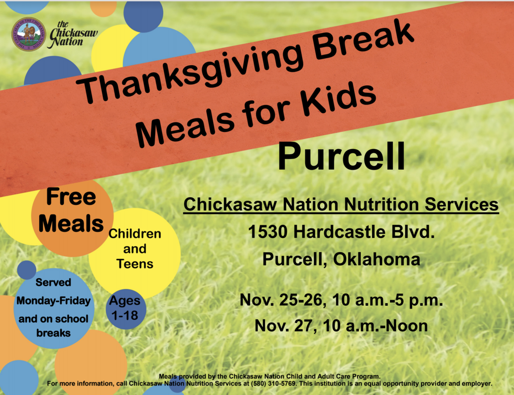 Chickasaw Nation Food Program